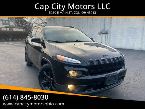 2016 Jeep Cherokee for sale at Cap City Motors LLC in Columbus OH