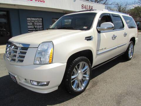 2011 Cadillac Escalade ESV for sale at Trimax Auto Group in Norfolk VA