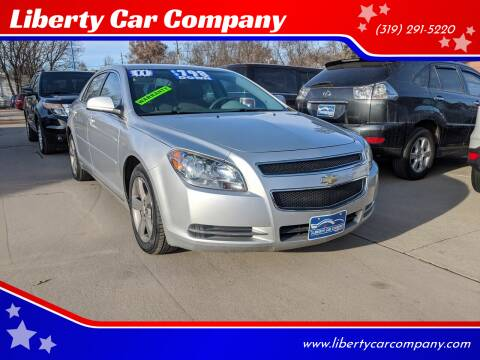 2011 Chevrolet Malibu for sale at Liberty Car Company in Waterloo IA