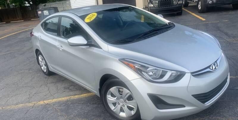 2016 Hyundai Elantra for sale at Peach Auto Sales in Smyrna GA