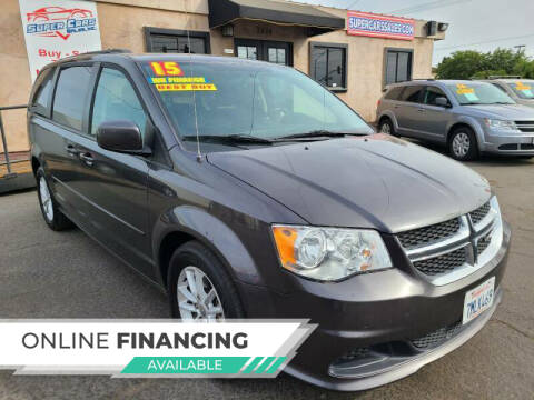2015 Dodge Grand Caravan for sale at Super Cars Sales Inc #1 - Super Auto Sales Inc #2 in Modesto CA