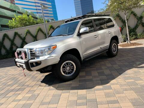 2014 Toyota Land Cruiser for sale at ROGERS MOTORCARS in Houston TX