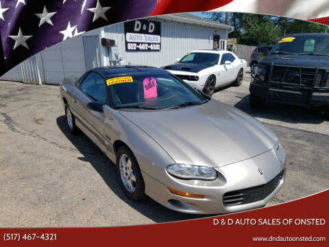 1999 Chevrolet Camaro for sale at D & D Auto Sales Of Onsted in Onsted MI