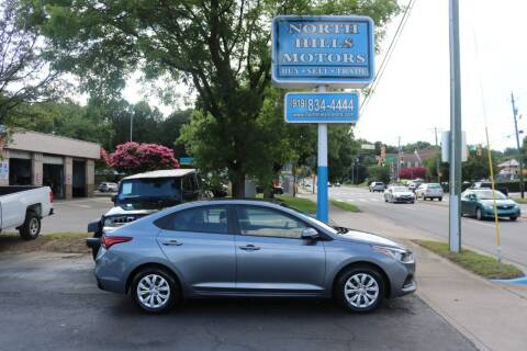 2018 Hyundai Accent for sale at North Hills Motors in Raleigh NC