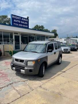 2004 Honda Element for sale at Right Away Auto Sales in Colorado Springs CO