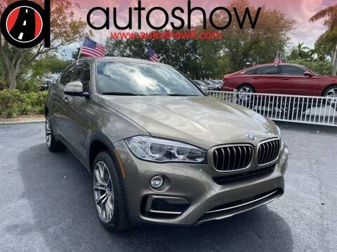 2017 BMW X6 for sale at AUTOSHOW SALES & SERVICE in Plantation FL