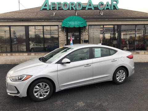 2017 Hyundai Elantra for sale at Afford-A-Car in Moraine OH
