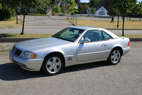 2000 Mercedes-Benz SL-Class for sale at Great Lakes Classic Cars & Detail Shop in Hilton NY