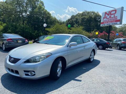 2007 Toyota Camry Solara for sale at No Full Coverage Auto Sales in Austell GA