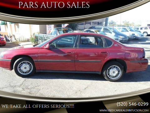 2005 Chevrolet Impala for sale at PARS AUTO SALES in Tucson AZ