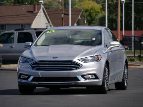 2018 Ford Fusion for sale at CLINT NEWELL USED CARS in Roseburg OR