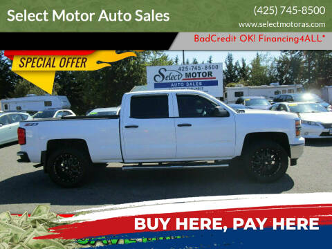 2014 Chevrolet Silverado 1500 for sale at Select Motor Auto Sales in Lynnwood WA