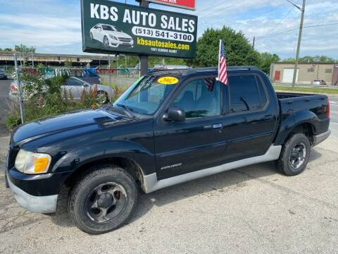 2002 Ford Explorer Sport Trac for sale at KBS Auto Sales in Cincinnati OH