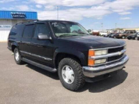 1999 Chevrolet Suburban for sale at BULL MOTOR COMPANY in Wynne AR