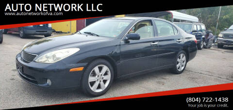 2005 Lexus ES 330 for sale at AUTO NETWORK LLC in Petersburg VA