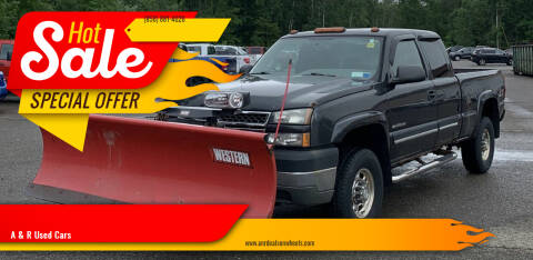 2005 Chevrolet Silverado 2500HD for sale at A & R Used Cars in Clayton NJ