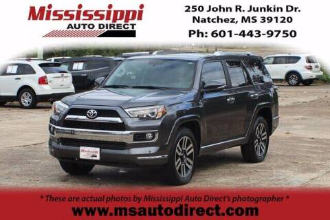 2018 Toyota 4Runner for sale at Auto Group South - Mississippi Auto Direct in Natchez MS