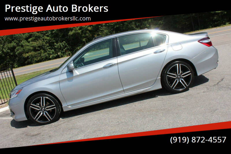 2016 Honda Accord for sale at Prestige Auto Brokers in Raleigh NC