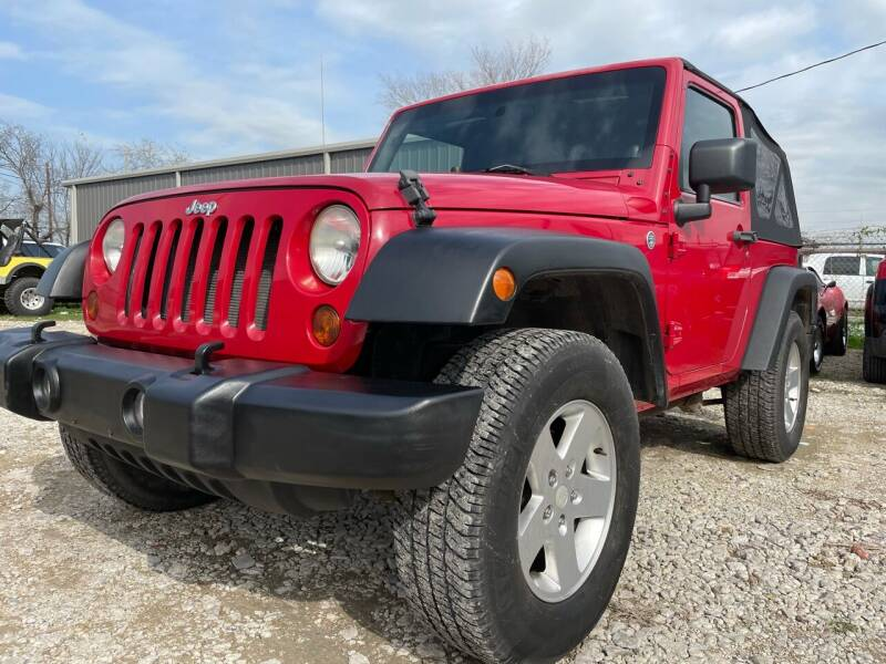 2011 Jeep Wrangler for sale at ALL STAR MOTORS INC in Houston TX