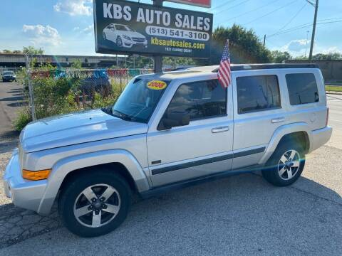 2008 Jeep Commander for sale at KBS Auto Sales in Cincinnati OH