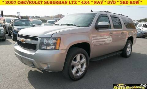 2007 Chevrolet Suburban for sale at L & S AUTO BROKERS in Fredericksburg VA