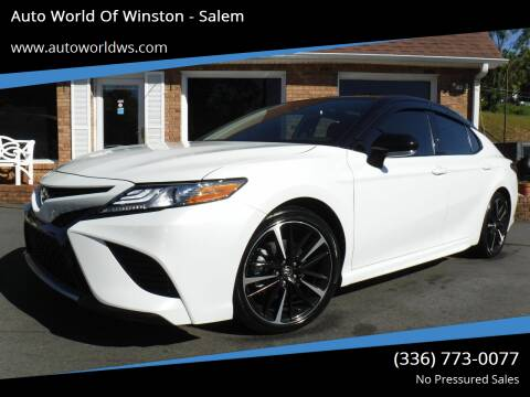 2019 Toyota Camry for sale at Auto World Of Winston - Salem in Winston Salem NC