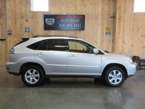 2007 Lexus RX 350 for sale at Boone NC Jeeps-High Country Auto Sales in Boone NC