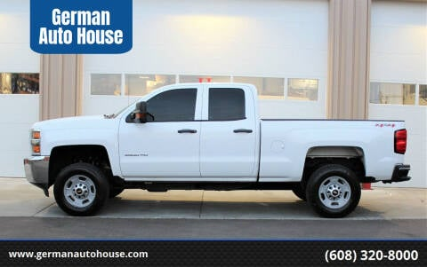 2017 Chevrolet Silverado 2500HD for sale at German Auto House in Fitchburg WI