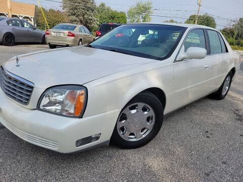 2002 Cadillac DeVille for sale at J's Auto Exchange in Derry NH