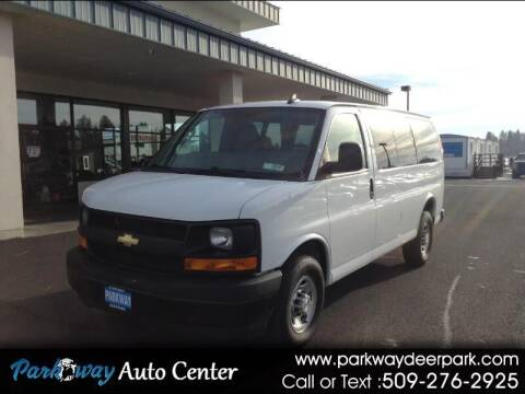 2017 Chevrolet Express Cargo for sale at PARKWAY AUTO CENTER AND RV in Deer Park WA