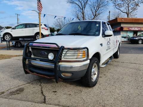2001 Ford F-150 for sale at Lamarina Auto Sales in Dearborn Heights MI