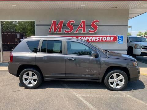 2014 Jeep Compass for sale at MSAS AUTO SALES in Grand Island NE