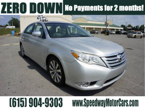 2011 Toyota Avalon for sale at Speedway Motors in Murfreesboro TN