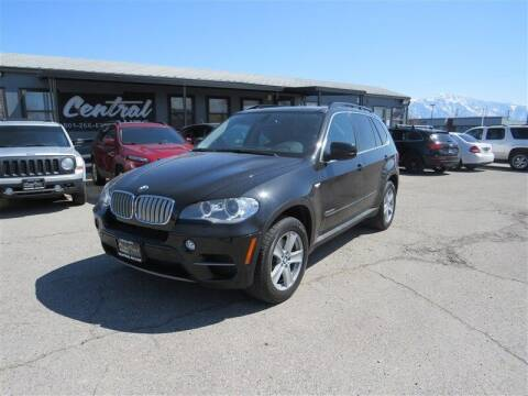 2013 BMW X5 for sale at Central Auto in South Salt Lake UT