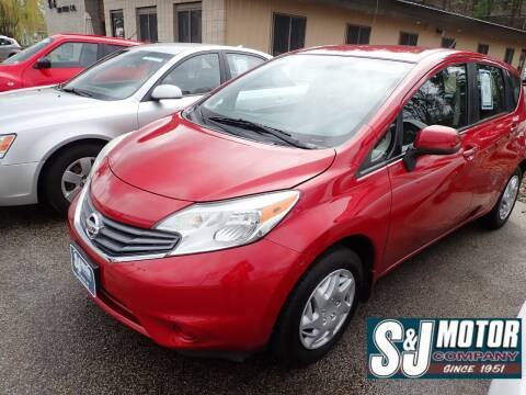 2014 Nissan Versa Note for sale at S & J Motor Co Inc. in Merrimack NH