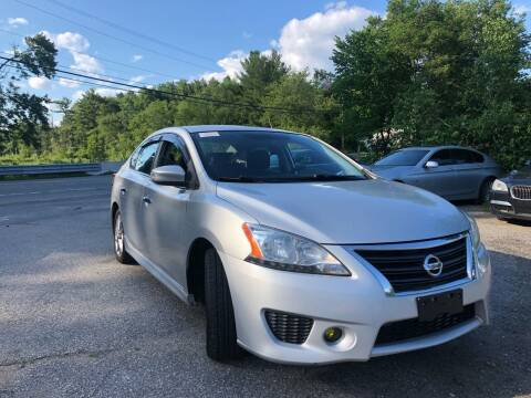 2013 Nissan Sentra for sale at Royal Crest Motors in Haverhill MA