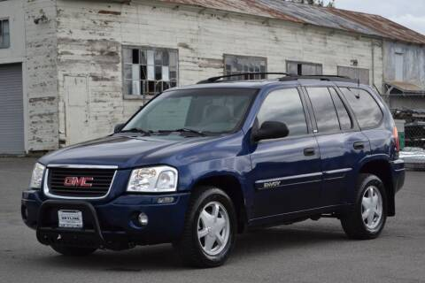 2002 GMC Envoy for sale at Skyline Motors Auto Sales in Tacoma WA