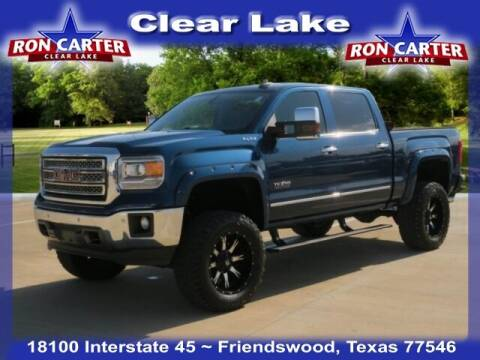 2015 GMC Sierra 1500 for sale at Ron Carter  Clear Lake Used Cars in Houston TX