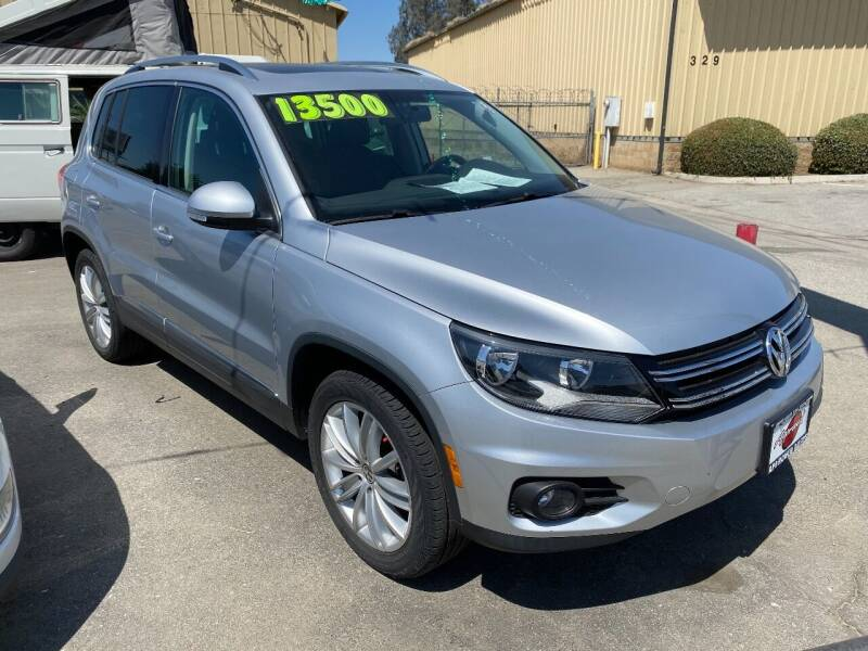 2015 Volkswagen Tiguan for sale at Approved Autos in Bakersfield CA