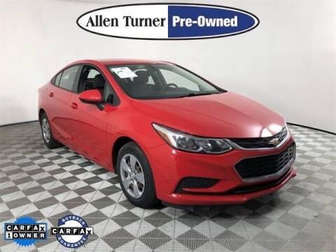2018 Chevrolet Cruze for sale at Allen Turner Hyundai in Pensacola FL