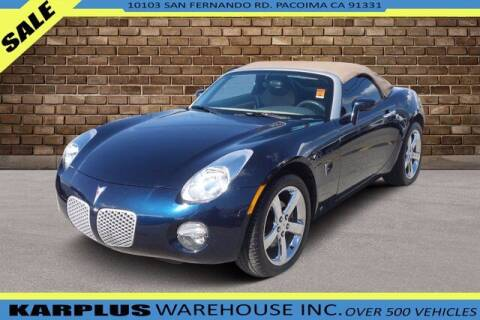 2007 Pontiac Solstice for sale at Karplus Warehouse in Pacoima CA