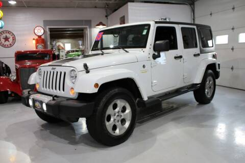 2015 Jeep Wrangler Unlimited for sale at Great Lakes Classic Cars & Detail Shop in Hilton NY