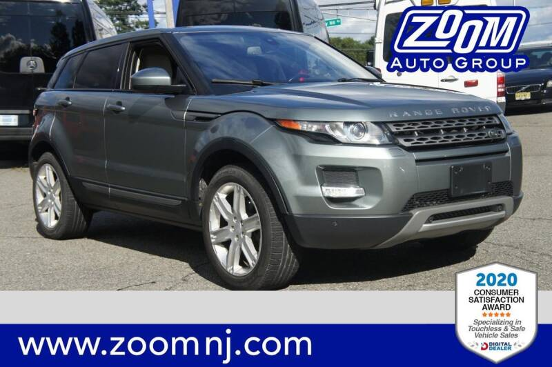 2015 Land Rover Range Rover Evoque for sale at Zoom Auto Group in Parsippany NJ