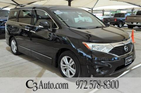2011 Nissan Quest for sale at C3Auto.com in Plano TX