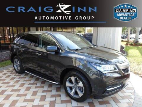 2015 Acura MDX for sale at Lexus Subaru of Pembroke Pines in Pembroke Pines FL
