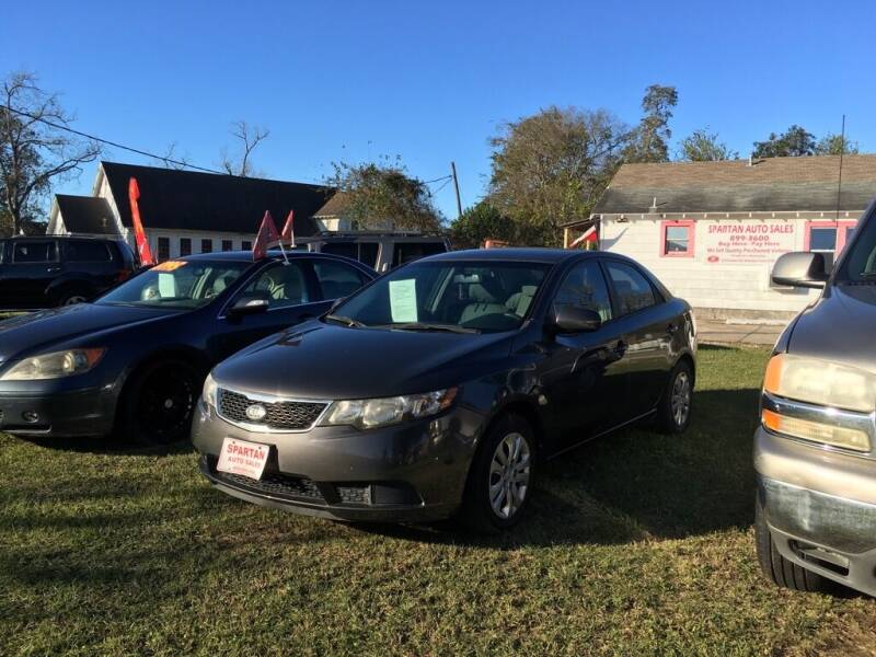 2013 Kia Forte for sale at Spartan Auto Sales in Beaumont TX
