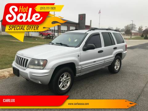 2004 Jeep Grand Cherokee for sale at CARLUX in Fortville IN
