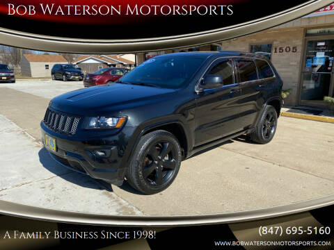 2015 Jeep Grand Cherokee for sale at Bob Waterson Motorsports in South Elgin IL