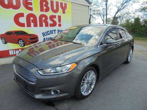 2015 Ford Fusion for sale at Right Price Auto Sales in Murfreesboro TN