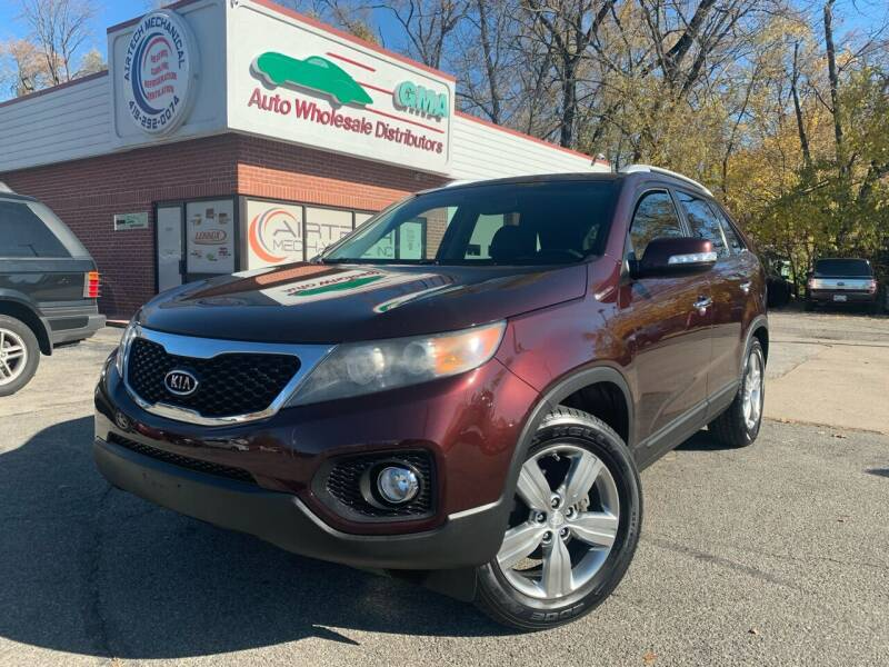 2012 Kia Sorento for sale at GMA Automotive Wholesale in Toledo OH
